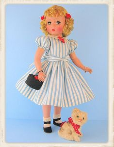 A beautiful Madame Alexander doll Maggie.