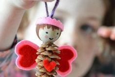 bricolage-enfants--pomme-pin--ange-coeurs