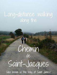 Long-distance walking on the Chemin de Saint-Jacques