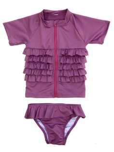 I wish I had this suit when Lyric was little. Great for fair skinned babies!