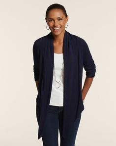 Chico's Convertible Libby Tie Cardigan #chicos