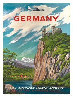 Travel Ads (Vintage Art) Pictures at AllPosters.com