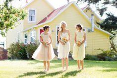 Darling vintage dresses.