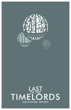Doctor Who Poster The Last of the Time Lords  11x17 by TheGeekerie