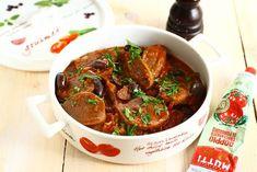 Limbă cu măsline și sos de roșii Keto Recipes, Cooking Recipes, Goodies, Beef, Ethnic Recipes, Food, Drinks, Food And Drinks, Sweet Like Candy
