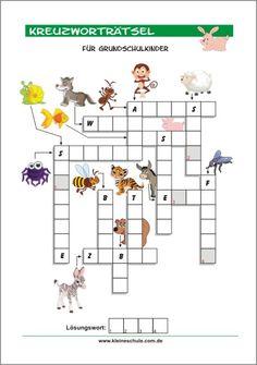 Sachkundiger Kreuzworträtsel