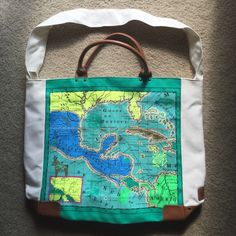Map bag New with tags. Great cross body bag Echodesign Bags Crossbody Bags