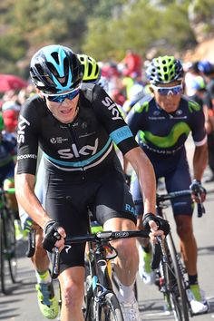 Tour of Spain 2016 Stage 8 Chris Froome, Nairo Quintana / Tim de Waele