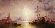 Venise - vue de s. georges - (Franz Richard Unterberger)