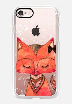 SWEET FOX iPhone 7 Case by Li Zamperini | Casetify