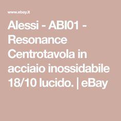 Alessi BM02 Barknest Cestino Rotondo in Acciaio Inossidabile 18//10 Lucido