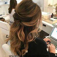 Die Hälfte Bis Balayage Hair Style