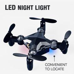 Foldable Mini Drone Camera – AOAOFY Buy Drone, Led Night Light, Remote, Mini, Pilot