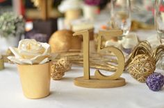 Wood Table Number Weddings / Decor Table Numbers Table by SunFla