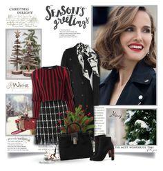 """Christmas Delight"" by thewondersoffashion ❤ liked on Polyvore featuring Prada, rag & bone, Tory Burch, Proenza Schouler, Sonia Rykiel, Furla and Dolce&Gabbana"