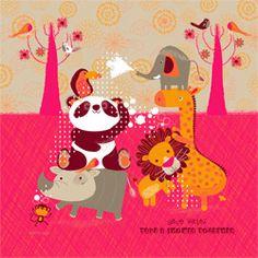 affiche moderne illustrations graphisme illustration bb illustrations enfant affiches posters dco tiquettes etc rigolos jeux enfants - Affiche Garcon Robot