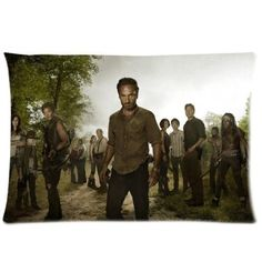 Brand Rectangle The Walking Dead Pillow Case Cover 20 x 30 Inch One Side for sale online Best Zombie, Fear The Walking Dead, Dead Inside, Daryl Dixon, Best Shows Ever, Favorite Tv Shows, I Movie, Tv Series, Movies And Tv Shows