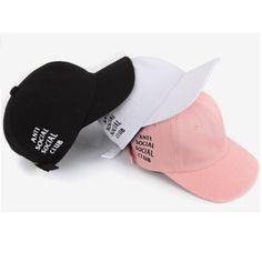 2016 New Fashion Travis Scotts ANTI SOCIAL CLUB Snapback Hat Sport Baseball Cap