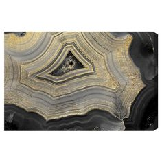 """• Digital fine-art print on hand-stretched canvas<br>• Hand-brushed acrylic finish<br>• Sustainable, FSC-certified wood frame<br>• Ready to hang with hardware included<br><br>Oliver Gal Unframed Wall """"Dubbio Geode"""" Canvas Art combines modern color with macrophotography. A contemporary accent, this canvas wall art will transform any wall with its unpretentious elegance."""