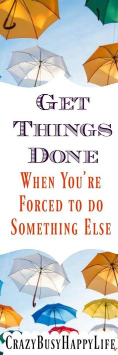 Hate time wasters? Me too- here's a way to be productive when you're forced to do other things. Get things done. Click through to read more or pin now and read later.