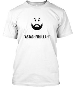 """""""Astaghfirullah!"""" Akhi means business (as long as no Riba is involved). Show the world your disapproval with a silent but bold show of piety!  #islam #Allah #hijab"""