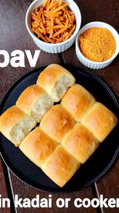 pav recipe, ladi pav in cooker, homemade eggless pav bread with step by step photo/video. easy baking indian bread or pav bread using pan or cooker. Breakfast Recipes, Snack Recipes, Chaat Recipe, Vada Pav Recipe, Indian Dessert Recipes, Indian Bread Recipes, Paratha Recipes, Think Food, Bakery Recipes