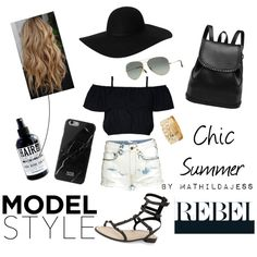 Cool for the summer by mathildajess on Polyvore featuring polyvore, fashion, style, H&M, Rebecca Minkoff, Charlotte Russe, Monki, Native Union, Ray-Ban, The Gnarly Whale, Summer, chic and ootd