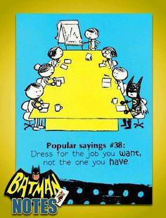 #DressForSuccess #Batman