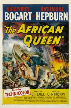 The African Queen Art Print by Cinema Greats at King & McGaw