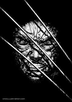 Wolverine Ink by Cristian Melián