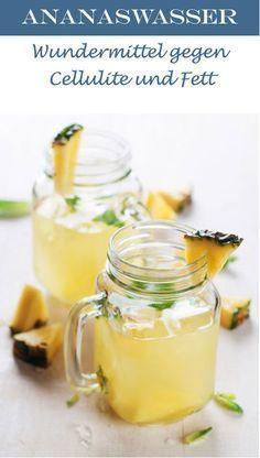Ananaswasser kurbelt die Fettverbrennung an und hilft überschüssiges Wasser abzubauen