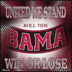 Born and Raised BAMA GAL🐘A bad lose at anytime will never change me from supporting University Of Alabama🐘❤️Roll Tide Roll😍😘❤️🐘 Ready for this next football season to start! Roll Tide Alabama, Roll Tide Football, Sec Football, Crimson Tide Football, Alabama Crimson Tide, Football Season, Alabama College Football, University Of Alabama, Alabama Athletics