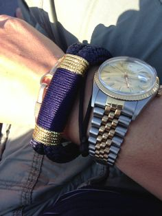 #theropesmaine #bracelets + #rolex #watch