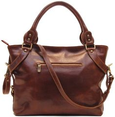 Women's Shoulder Bags - Floto Brown Taormina Bag in Italian Calfskin Leather  handbag shoulder bag hobo >>> You can find more details by visiting the image link.