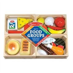 Food Groups Wooden Play Food by Melissa & Doug | Toys | chapters.indigo.ca