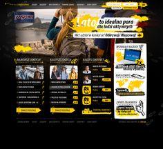 Web Design for JANSPORT