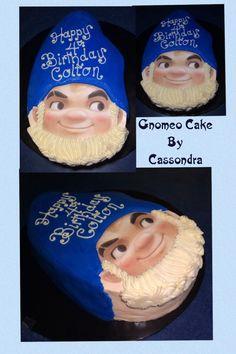 Gnomeo Cake