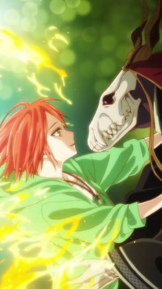 The Ancient Magus' Bride Elias Ainsworth, Chise Hatori, Romantic Anime Couples, The Ancient Magus Bride, Sky Art, Anime Love, Kawaii Anime, Anime Art, Manga Drawing