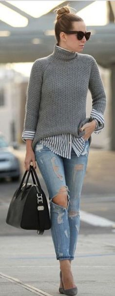 Fashionable Fall Outfits To Copy From NYC's Stylish Women 19