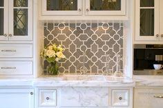 Chatham 1 Stone Mosaic - traditional - Kitchen - Other Metro - New Ravenna Mosaics