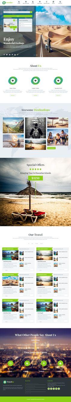 Traveline is Premium full Responsive Retina #WordPress #Travel #Theme. Bootstrap 3 Framework. WooCommerce. Parallax Scrolling. Test free demo at: http://www.responsivemiracle.com/cms/traveline-premium-responsive-travel-hotel-booking-wordpress-theme/