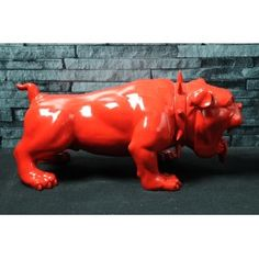 Quality Red English devil antique bulldog vintage retro dog ornament bespoke bulldog statues retro home decor & antiques Smithers of Stamford 01780 435060 Retro Furniture, Furniture Decor, Man Cave Must Haves, Quirky Home Decor, House Ornaments, Vintage Gifts, Soft Furnishings, Bachelor Pads, Red