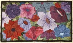 Angela Possak, rug hooking teacher & fibre artist, Peachland BC