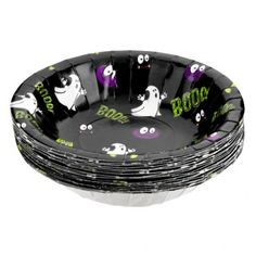 Halloween Party Paper Bowls 20 Pack - Halloween Party Decorations - Halloween