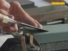 Holzwerkzeug: Schärfe aus dem Wasser - YouTube