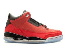 huge discount 4ec13 55b7e Discount AIR JORDAN 3 RETRO DB DOERNBECHER varsity red black-mtllc silver  437536 600 For Sale
