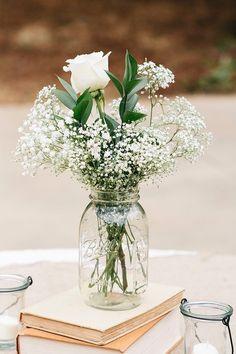 Blumendekoration mit Schleierkraut is part of Flower centerpieces wedding - Dream Wedding, Wedding Day, Trendy Wedding, Wedding Rustic, Rustic Weddings, Elegant Wedding, Wedding Advice, Beach Weddings, Wedding Ceremony