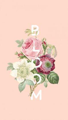 Floral wallpaper desktop backgrounds mobiles Ideas for 2019 Floral Wallpaper Desktop, Macbook Wallpaper, New Wallpaper, Flower Wallpaper, Wallpaper Quotes, Vintage Phone Wallpaper, Cat Phone Wallpaper, Vintage Flowers Wallpaper, Hippie Wallpaper