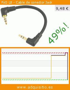 FiiO L8 - Cable de conector Jack (Electrónica). Baja 49%! Precio actual 9,48 €, el precio anterior fue de 18,52 €. https://www.adquisitio.es/fiio/cable-lod-l8