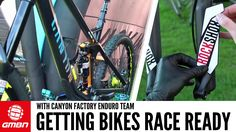 What Does It Take To Get A Pro Bike Race Ready? – With The Canyon Factor...